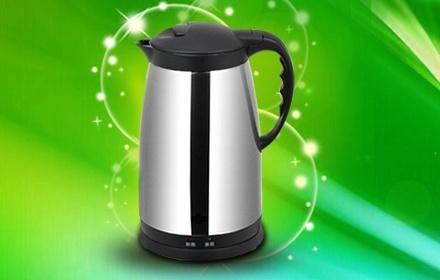 保温电水壶-银色