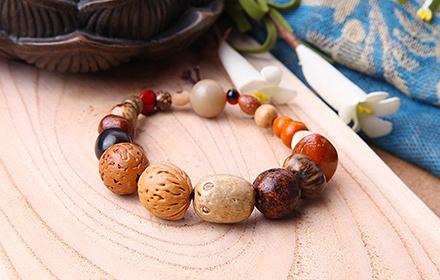 珠玉传奇天然十八菩提手串