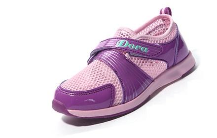 朵拉女透气单网运动鞋