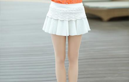 裤裙版型结构图