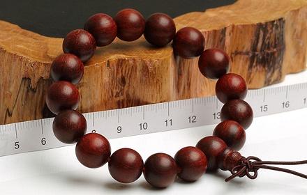 今上珠宝天然小叶紫檀佛珠手串直径约12mm,精选拆房老料,悠悠
