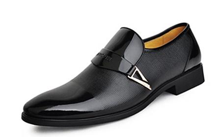 商务男士真皮皮鞋