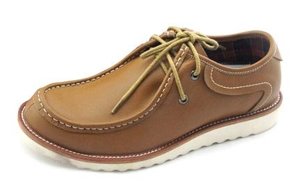 个性男马丁鞋透气棕色