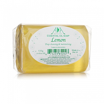 英国•英国AA网柠檬手工甘油皂125g