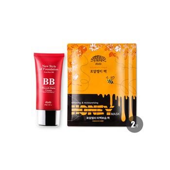 韩国•多多 (dodo)裸妆BB霜50g(赠多多面膜2片)
