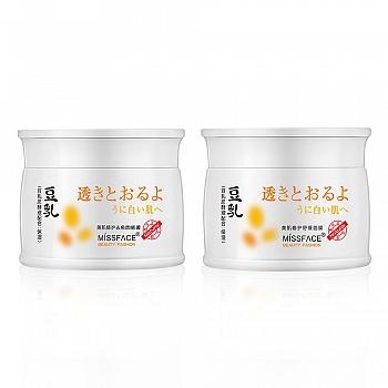 中国•豆乳美肌修护组合(豆乳美肌修护去角质啫喱80g+豆乳美肌修护舒缓面膜80g)