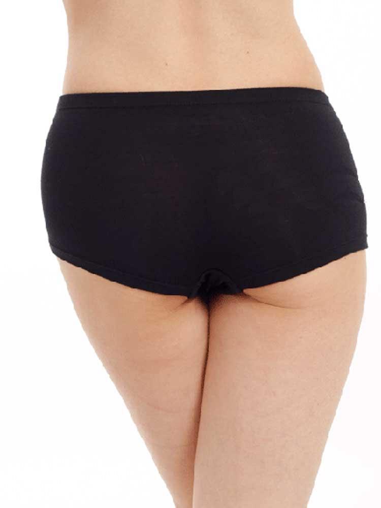 女士平角内裤dma8454黑色