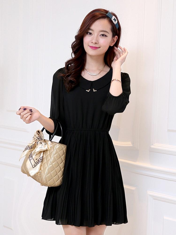 新款春季连衣裙子