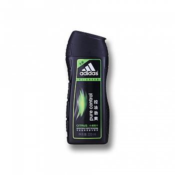 阿迪达斯 (Adidas)男士控油劲爽去屑洗发露    220ml