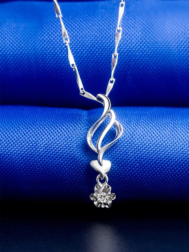 Doido\/爱度 18K钻石吊坠-爱语 - 聚美优品 - 名品