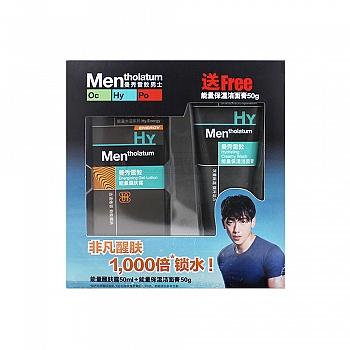 美国•曼秀雷敦(Mentholatum)能量醒肤露 50ml+能量保湿洁面膏50g