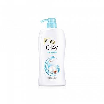 美国•玉兰油(OLAY)美肌清爽沐浴露-亮爽珍珠 1000ml
