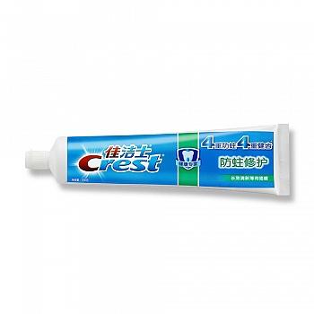 佳洁士(Crest)健康专家防蛀修护牙膏(晶莹薄荷/清新薄荷) 200G