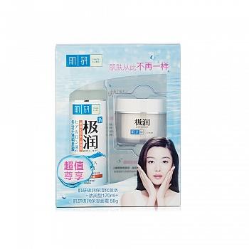美国•肌研(Hada Labo)极润保湿面霜50g+肌研(Hada Labo)极润保湿化妆水(浓润型)170ml