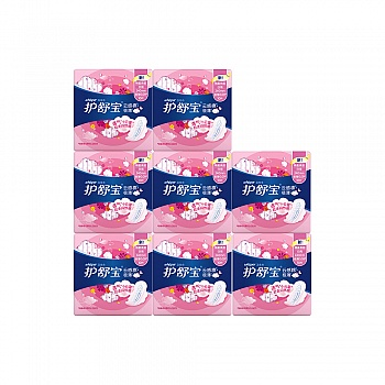 美国•护舒宝(whisper)云感棉极薄日用10片卫生巾*8