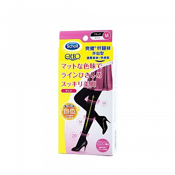英国•爽健(Scholl)纤腿袜 外出型 提臀裤袜-热感型 M