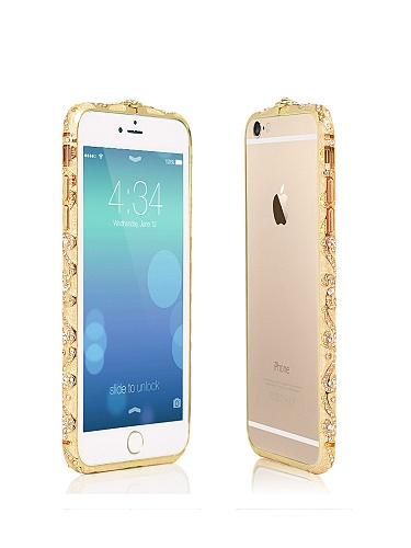 iphone6/plus民族风镶钻手机边框