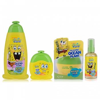 美国?海绵宝宝 (SpongeBob)儿童基础护理组合