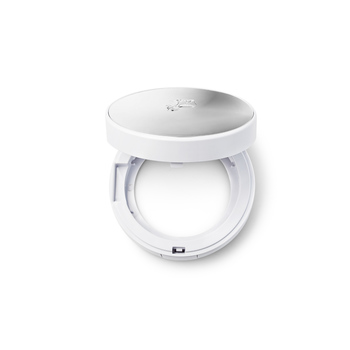 法国•兰蔻(Lancome)空气轻垫修颜隔离乳空盒(银色版)/臻白粉底液2017盒子