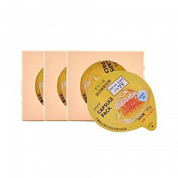 韩国•菲诗小铺(The Face Shop)迷你布丁蜂蜜面膜套装(迷你蜂蜜面膜10g*4)