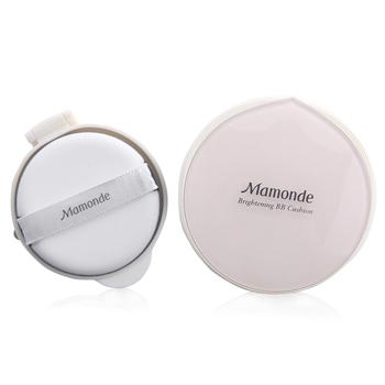 韩国•梦妆(mamonde)光采裸透气垫霜02 SPF30+/PA++ 自然色 15g*2