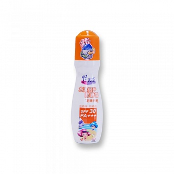 中国•孩儿面水漾倍护防晒露走珠包装 SPF30PA+++100ml