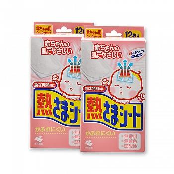 日本•小林散热贴婴儿用(12片)*2