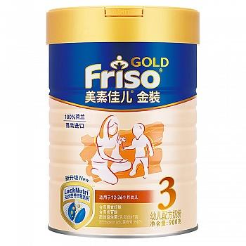 荷兰?美素佳儿金装幼儿配方奶粉900g(3段)