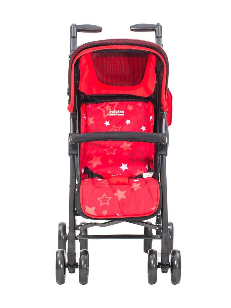 可躺折叠婴儿推车(红色)