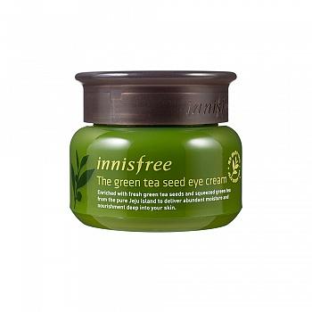 韩国•悦诗风吟(innisfree)绿茶籽精萃水分眼部菁华霜 30ml