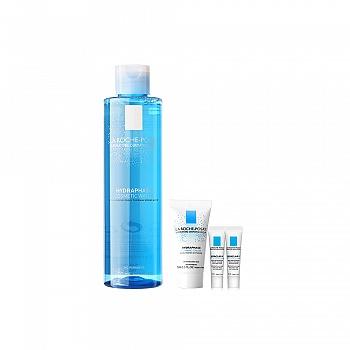 理肤泉温泉活化保湿润肤水套装(润肤水200ml+喷雾50ml或卸妆液50ml+洁面泡沫15ml*2)