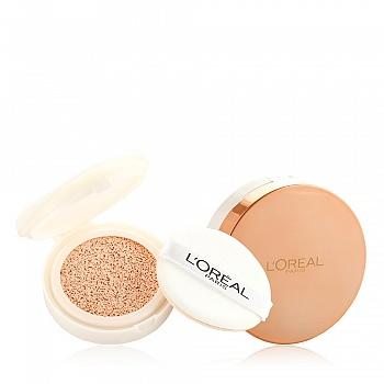 欧莱雅 (L'Oreal) 奇焕水光美颜精华气垫霜1+1套装R2粉裸色