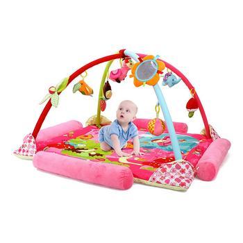 歐培 益智音樂游戲毯 卡通粉色 多功能嬰兒游戲墊