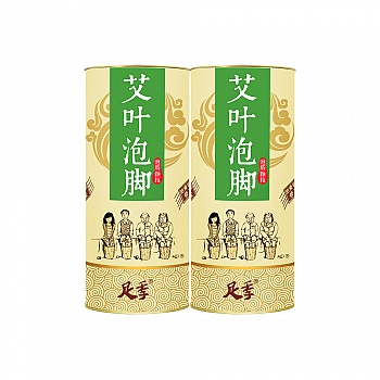 中国•足季艾叶足泡泡腾颗粒250g*2