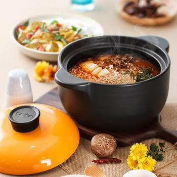 光合生活耐热煲汤陶瓷炖锅汤砂锅