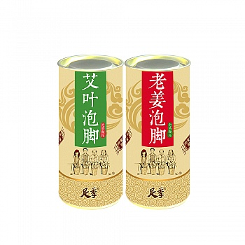 中国•足季足泡泡腾颗粒套装(足季艾叶足泡泡腾颗粒250g+老姜足泡泡腾颗粒250g)