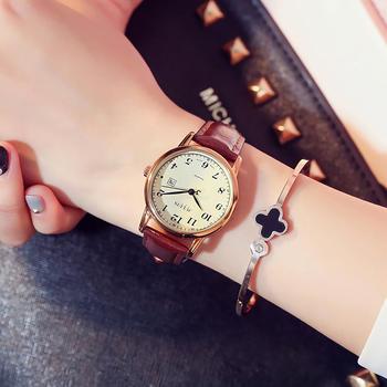 聚利时韩国时尚时装情侣手表