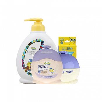 美国•海绵宝宝 (SpongeBob) 婴儿洗沐呵护挚爱套装