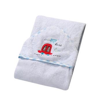 澳斯贝贝婴儿竹纤维浴巾帕帕贝拉
