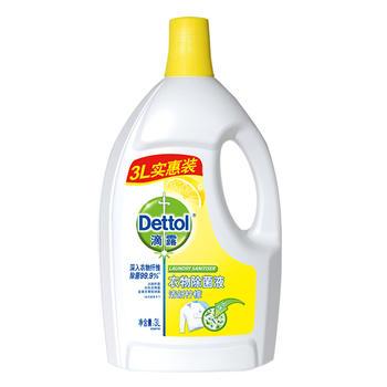 Dettol 滴露清洁抑 菌清新柠檬衣物除 菌液3L