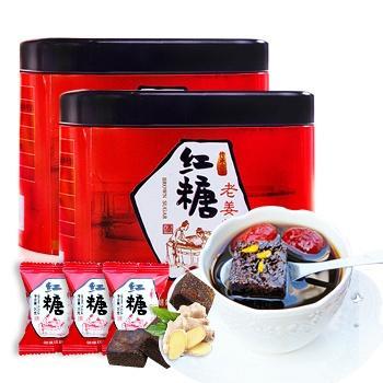 四月茶侬 红糖姜茶200g*2罐