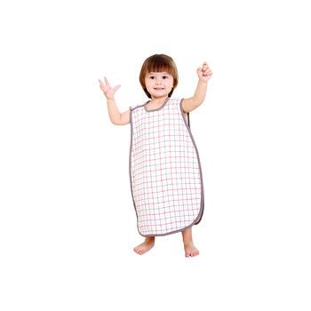 中国•纯棉4层纱布露脚背心睡袋