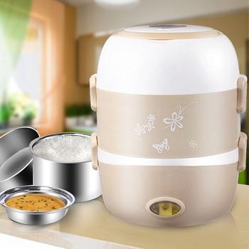 中国•智器电热饭盒两层加热饭盒电饭盒
