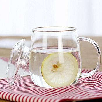 中国•物生物蘑菇杯耐热玻璃过滤茶杯