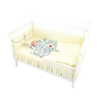 龙之涵 纯棉针织宝宝床品套件儿童床品套件
