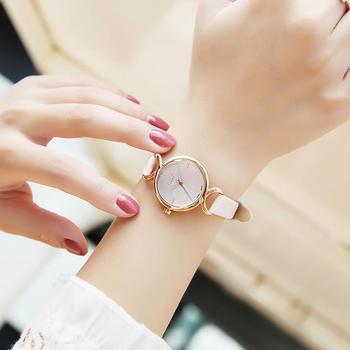 聚利时韩国时尚简约皮带女士手表