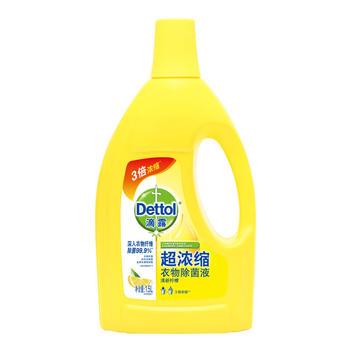 滴露超浓缩除 菌液清新柠檬1.5L