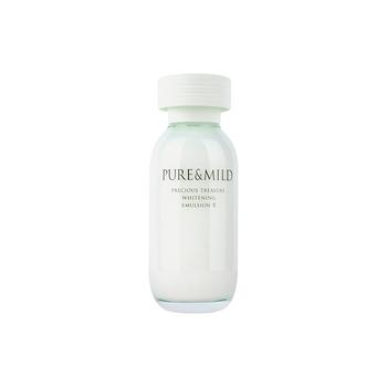 日本•泊美(PURE&MILD)鲜纯珍萃美白乳液120ml(滋润型)