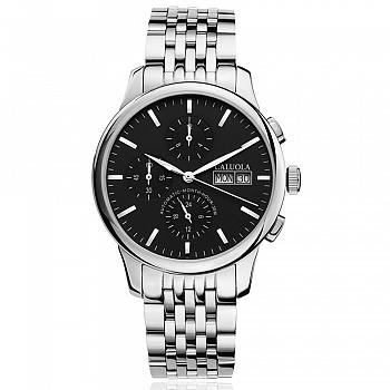 中国•卡罗莱全自动机械表手表男表钢带