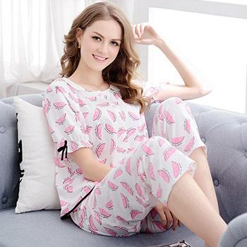 中国•短袖七分裤家居服套装